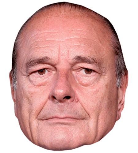 Jaques Chirac Celebrity Mask