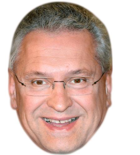 Joachim Herrmann Celebrity Mask