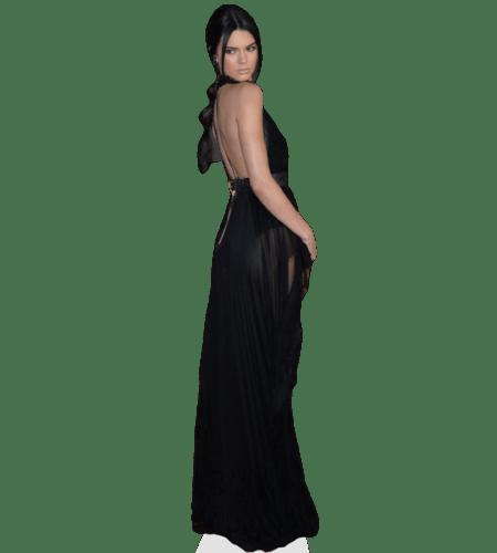 Kendall Jenner (Black Dress) Lebensgroßer Pappaufsteller