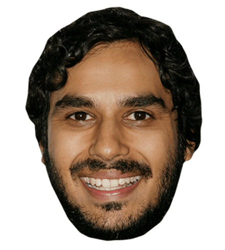 Kunal Nayyar Celebrity Mask