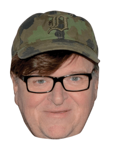 Michael Moore Celebrity Mask