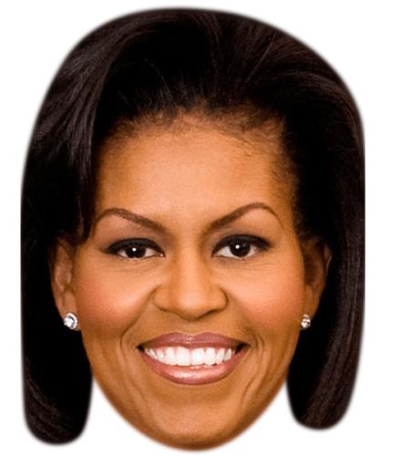 Michelle Obama Celebrity Mask
