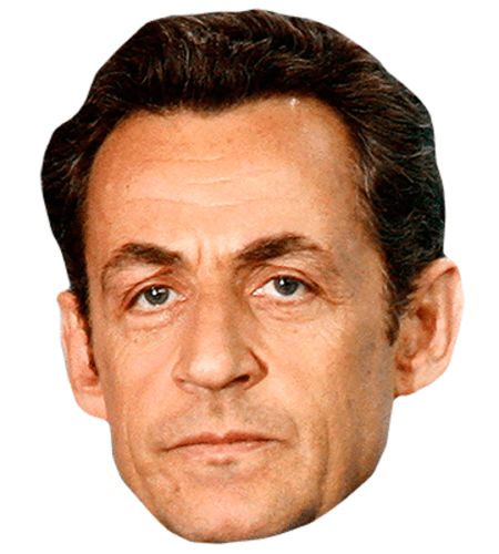 Nicolas Sarkozy Celebrity Mask