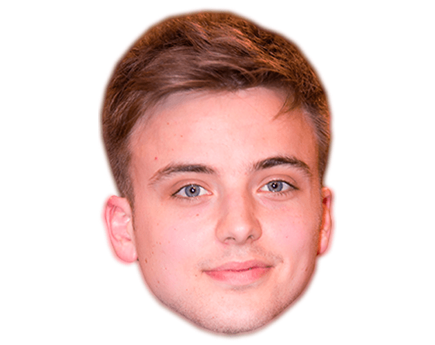 Parry Glasspool Celebrity Mask