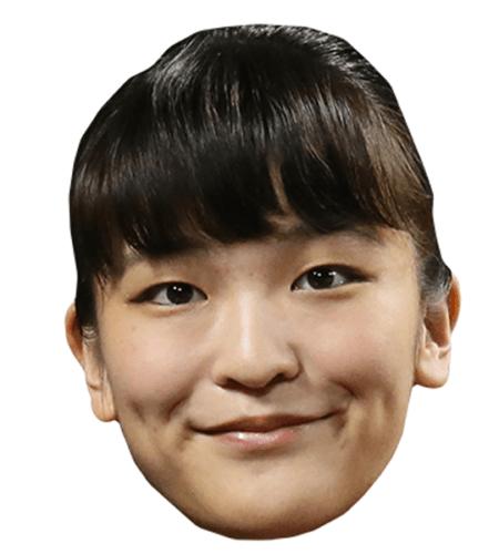 Princess Mako of Akishino Celebrity Mask