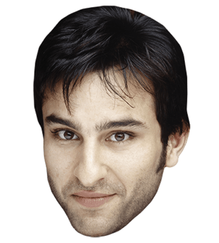 Saif Ali Khan (Fringe) Celebrity Mask