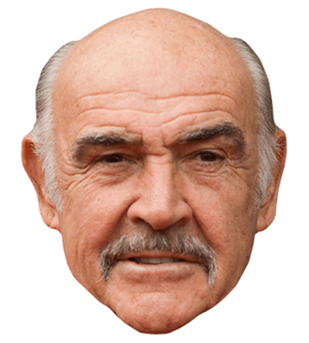 Sean Connery Celebrity Mask