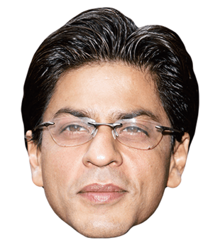 Shah Rukh Khan (Glasses) Celebrity Mask