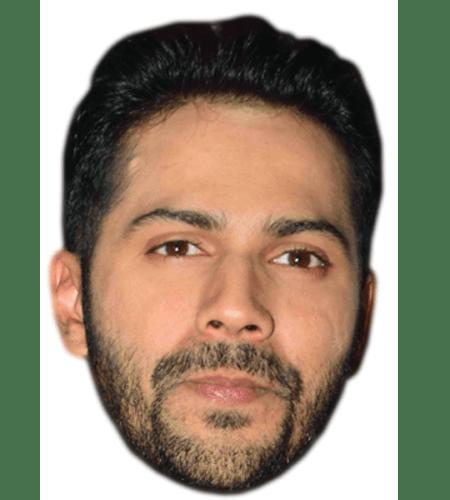 Varun Dhawan Celebrity Mask