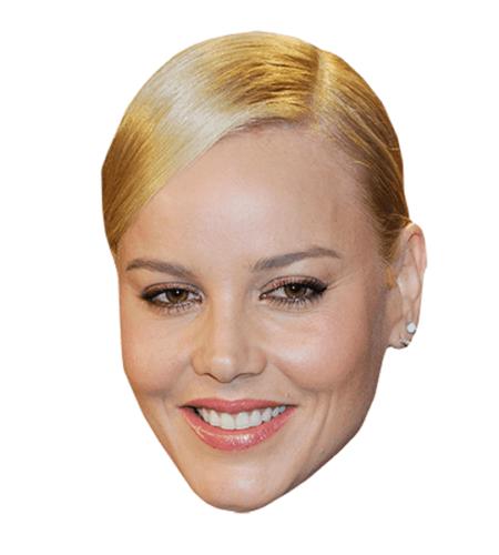 Abbie Cornish Maske aus Karton