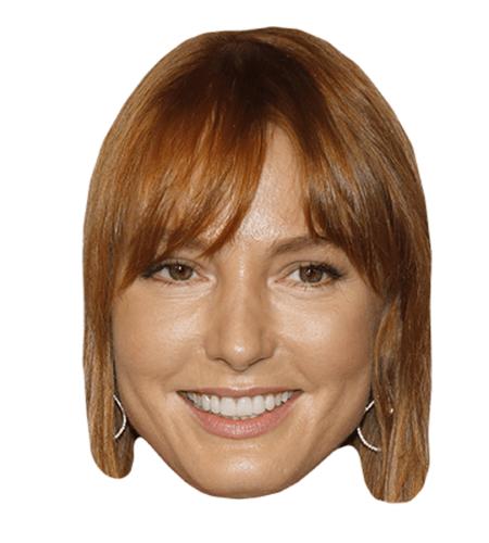 Alicia Witt Maske aus Karton