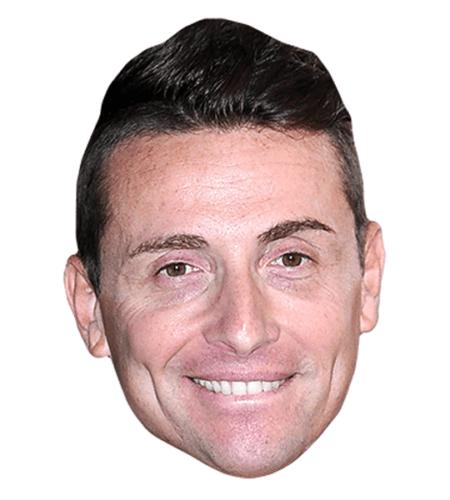 Angelo Pintus Maske aus Karton