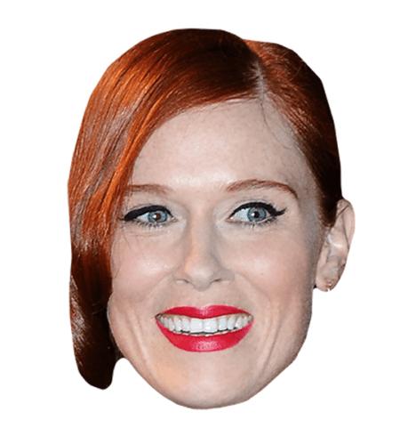 Audrey Fleurot Maske aus Karton