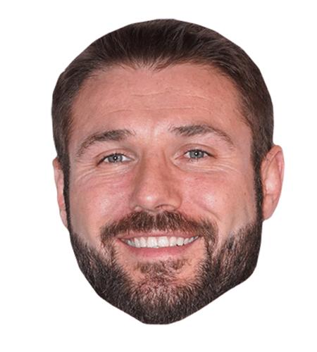Ben Cohen Maske aus Karton