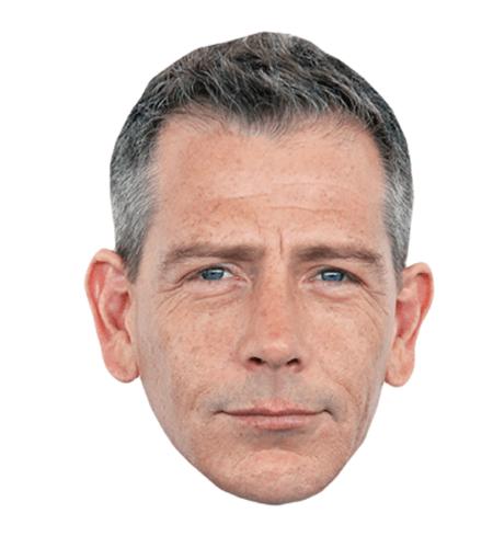 Ben Mendelsohn Maske aus Karton