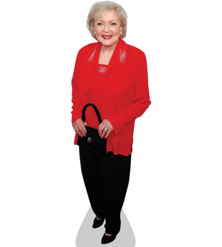 Betty White Lebensgroßer Pappaufsteller