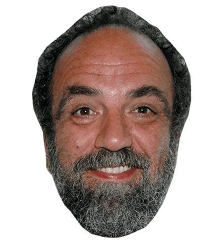 Giobbe Covatta Maske aus Karton