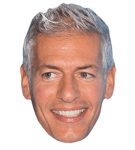 Giovanni Vernia Maske aus Karton