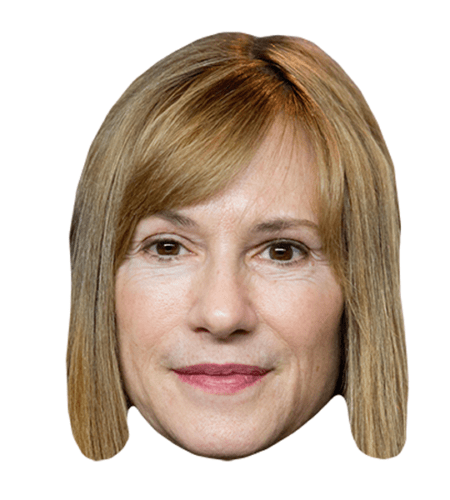 Holly Hunter Maske aus Karton