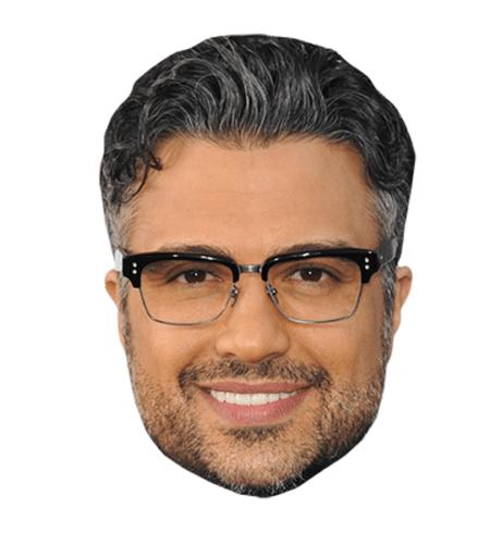 Jaime Camil Maske aus Karton