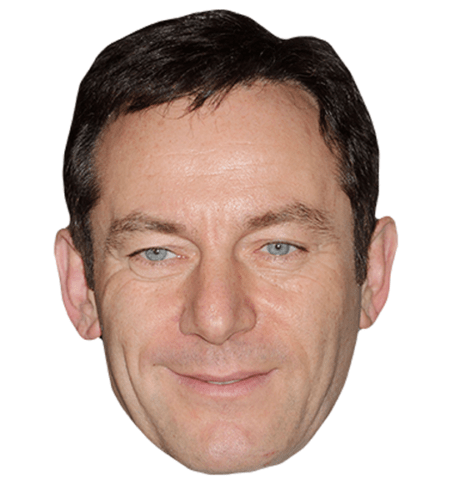 Jason Isaacs Maske aus Karton