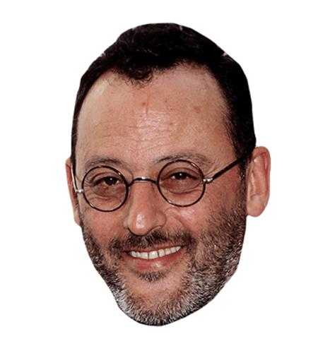 Jean Reno Maske aus Karton