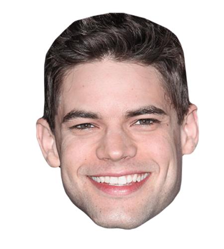 Jeremy Jordan Maske aus Karton