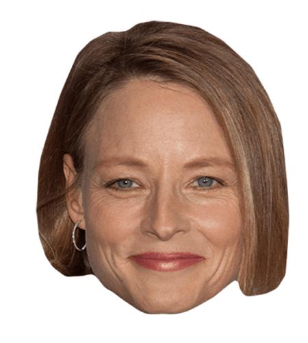 Jodie Foster Maske aus Karton