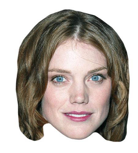 Leslie Stefanson Maske aus Karton