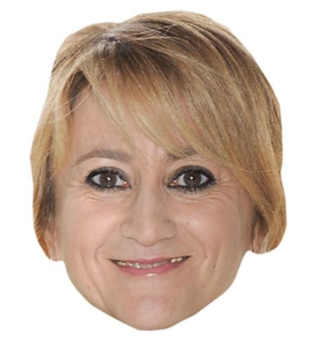 Luciana Littizzetto Maske aus Karton