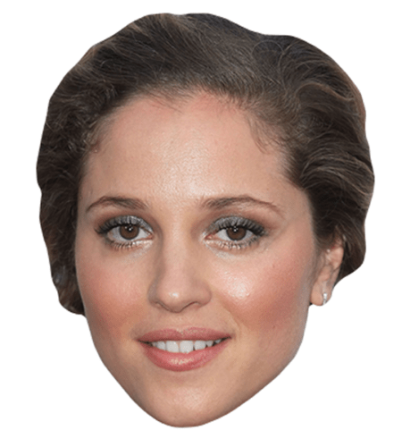 Margarita Levieva Maske aus Karton