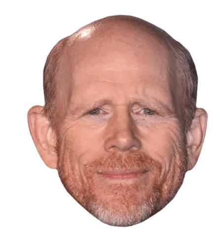 Ron Howard Maske aus Karton