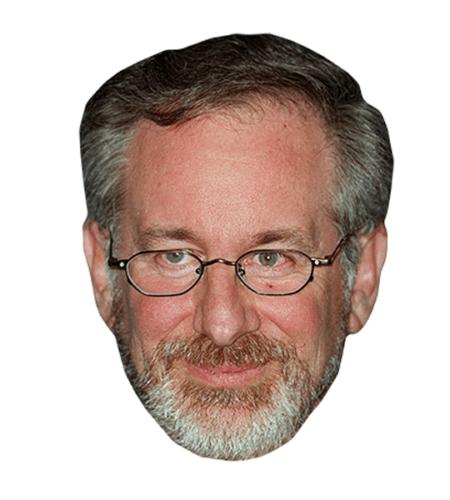 Steven Spielberg Maske aus Karton