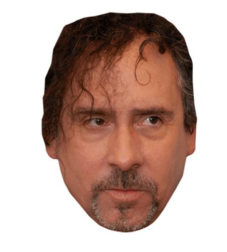 Tim Burton Maske aus Karton