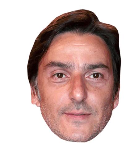 Yvan Attal Maske aus Karton