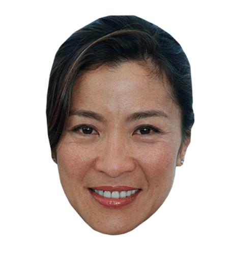 Michelle Yeoh Maske aus Karton