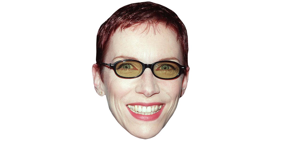 Annie Lennox (Smile) Maske aus Karton - Celebrity Cutouts
