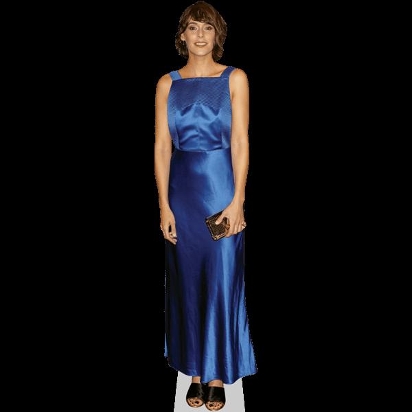 Belen Cuesta (Blue Dress)