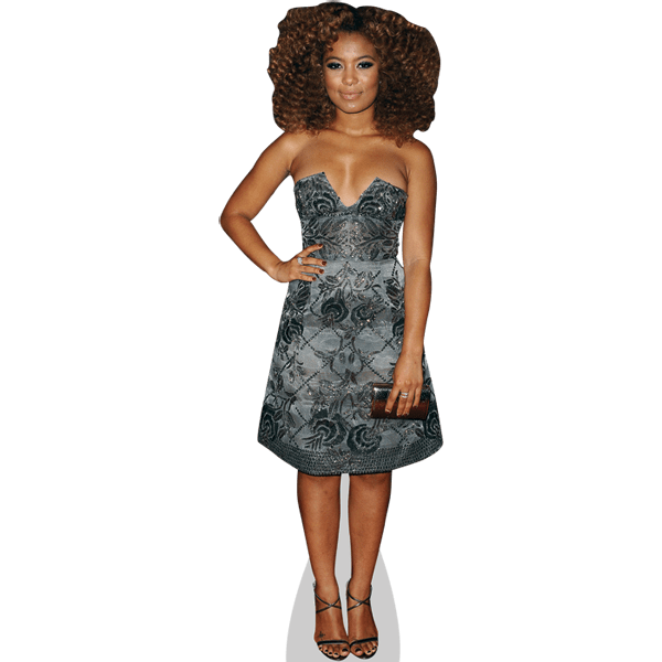 Jaz Sinclair (Silver Dress)