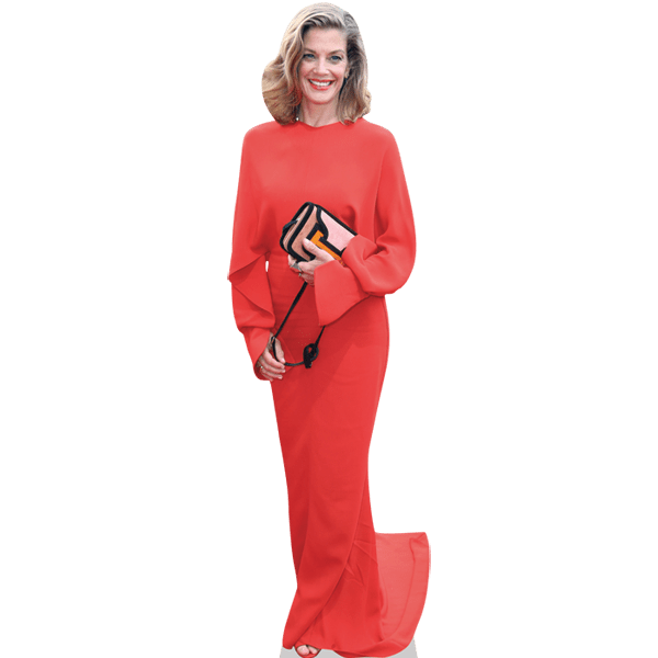 Marie Baumer (Red Dress)