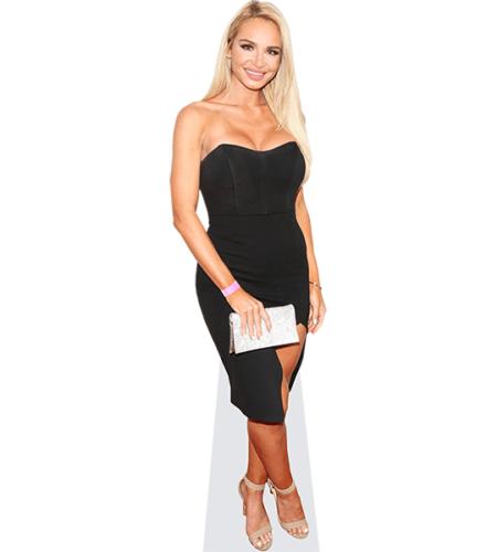 Anna-Katharina Samsel (Black Dress)