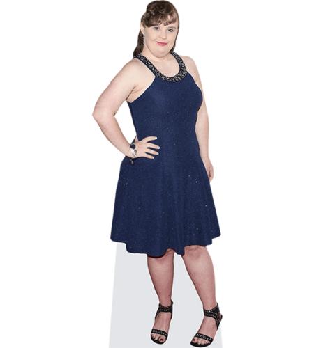 Jamie Brewer (Blue Dress)