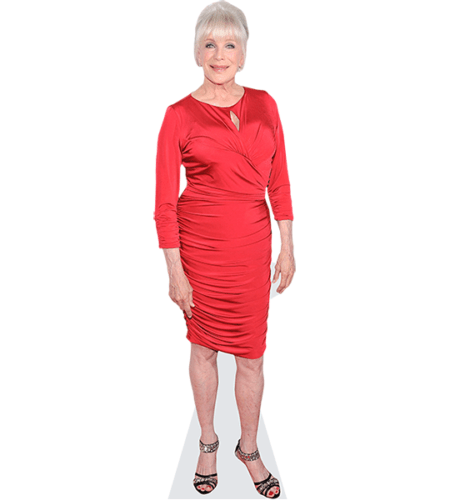 Linda Evans (Red Dress)