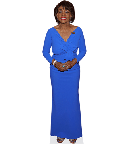 Maxine Waters (Blue Dress)