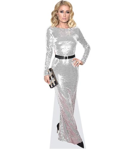 Paris Hilton (Silver Dress)