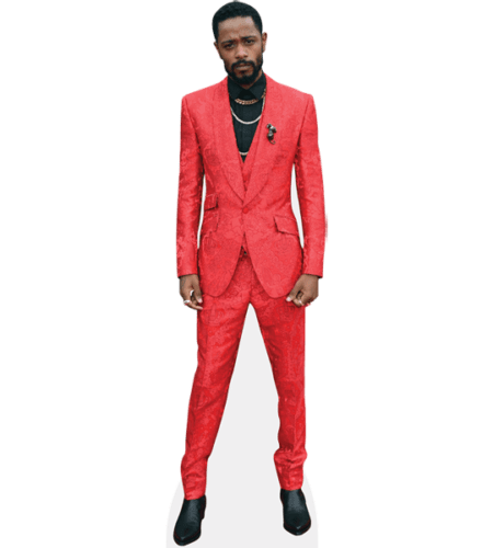 Lakeith Stanfield (Red Suit)