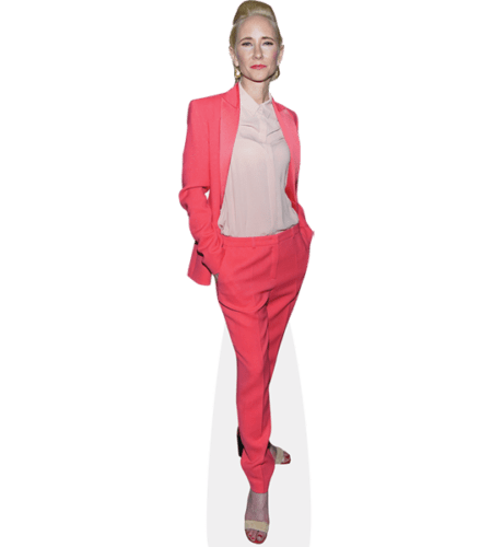 Anne Heche (Pink Suit)