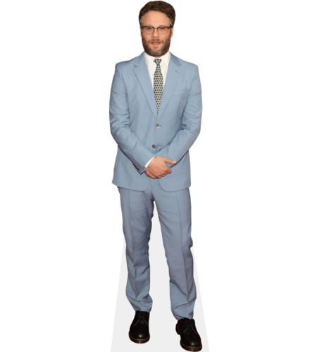 Seth Rogen (Blue Suit)