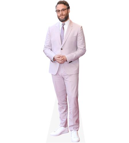 Seth Rogen (Pink Suit)