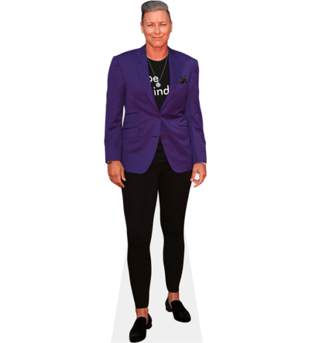 Abby Wambach (Purple Blazer)